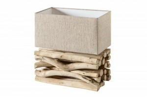 INVICTA lampa biurkowa EUPHORIA 2  - driftwood TL572TH/IYP2-1 King Home