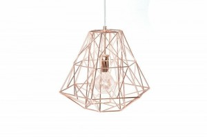 INVICTA lampa wisząca CAGE S rose gold  HL567GD/LCS1-1 King Home